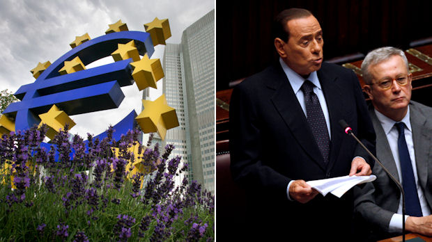 Italy's Silvio Berlusconi insists Italy is financially solid despite market jitters (Getty)
