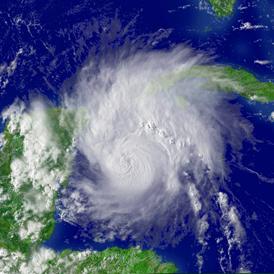 Tropical Storm Emily - Reuters