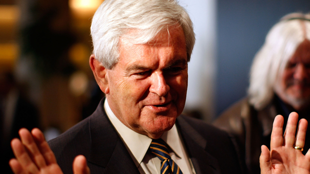 Newt Gingrich has 1.3m followers on Twitter. (Getty)
