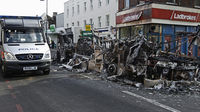 Tottenham riots in north London leave 8 police officers in hospital (Image: Reuters)