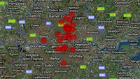 London riots: interactive timeline map