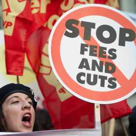 Students facing debts of £50,000 (Getty)