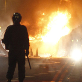 riots in Tottenham (Reuters)
