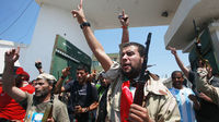 Celebrations in Tripoli (Reuters)