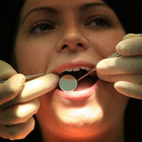 Patient undergoes dental treatment (Getty)