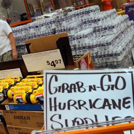 Residents prepare for Hurricane Irene (Getty)