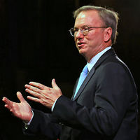 Delivering the McTaggart lecture in Edinburgh on Friday, Dr Eric Schmidt said: