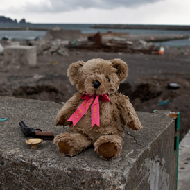A tribute to the victims of the Japan tsunami (Getty)