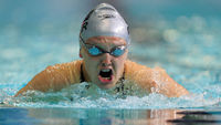Charlotte Henshaw is a paralympic swimmer (Getty)