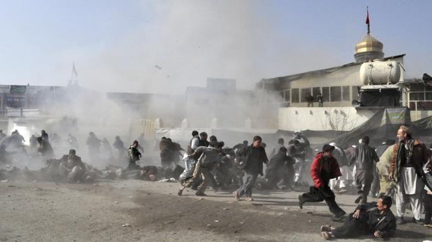 Kabul Shrine attack (Reuters)