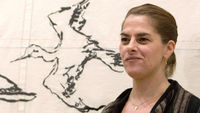 Tracey Emin, famed for art installations featuring tents and an unmade beds, has been made professor of drawing at the Royal Academy. But do modern artists need to be able to draw? (Getty)