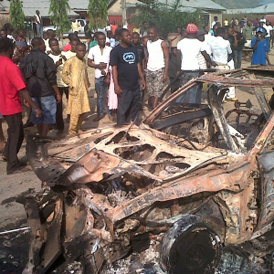 A bomb has exploded in a Catholic church on the outskirts of the Nigerian capital Abuja (Saharareporters.com)