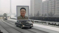 Snow and tears at Kim Jong-il's funeral (Reuters)