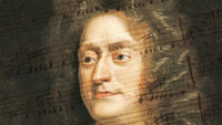Henry Purcell, whose score for Ode for St Cecilia's Day features in the Treasures of the Bodleian exhibition