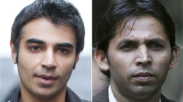 Salman Butt and Mohammad Asif (Reuters)