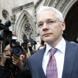 Julian Assange must climb a new legal mountain. (Reuters)