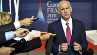 Greek Prime Minister George Papandreou at the G20 summit in Cannes (Reuters)