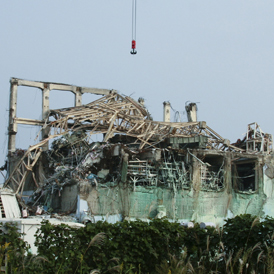 Fukushima's reactors are still badly damaged (Reuters)