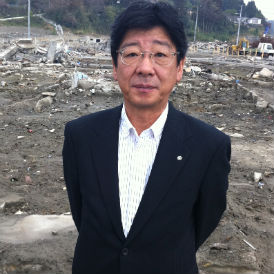 The 'humbling strength' of Minamisanriku's mayor.