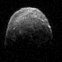 NASA image of asteroid 2005 YU55