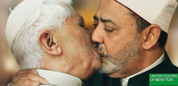 Benetton  sorry  as it pulls Pope kiss ad (United Colours of Benetton) 44ba0129b7c