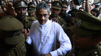 ex-army chief Sarath Fonseka (Reuters)