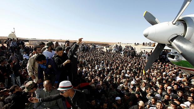 Saif Gaddafi captured (Image: Reuters)
