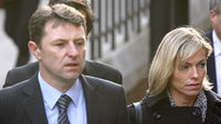 Kate and Gerry McCann arrive at the Leveson inquiry (Getty)