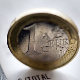 Following the downgrading of Belgium's credit rating, the Foreign Office is advising its embassies to prepare contingency plans for the possibility of the collapse of the euro.