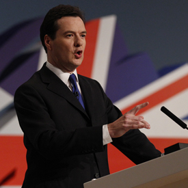 George Osborne, as council tax freeze is extended for a year (reuters)