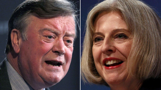 Clarke and May fall out over cat claim