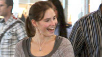 Amanda Knox flies home from Perugia (reuters)