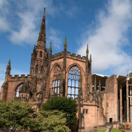 Coventry Cathedral is on the 2012 World Monument Fund watchlist (WMF)
