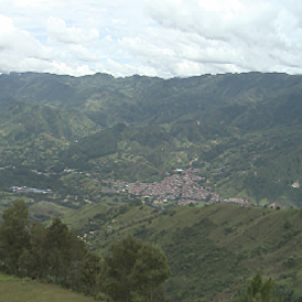 The remote region of Antioquia