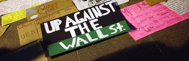 Occupy Wall Street demonstrations in New York. (Getty)
