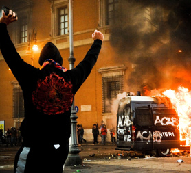 Occupy Rome (Image: Getty)