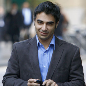 Former Pakistan cricket captain Salman Butt arrives at Southwark Crown Court in London to face match-fixing allegations