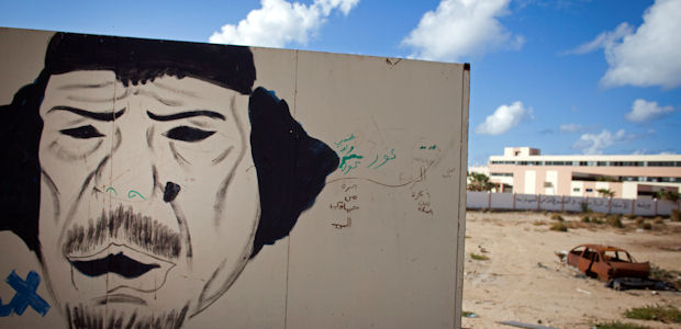 Gaddafi's gone - but what next for Libya? (Getty)
