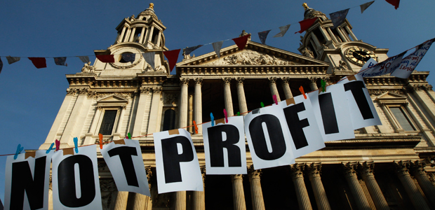 St Paul's protesters pledge to stay for months (reuters)