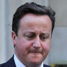 Prime Minister David Cameron says there is