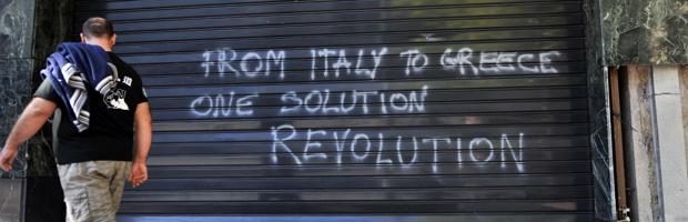 Eurozone crisis triggers social unrest. (Getty)