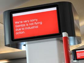 Qantas monitor