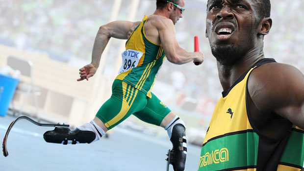 The world of athletics currently has two undisputable global stars. The fastest man on the planet Usain Bolt, and the fastest man on no legs - Oscar Pistorius, writes Keme Nzerem.