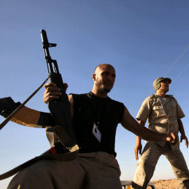 The forces of Libya's Transitional National Council (NTC) advanced to within 500 yards of the centre of the desert town of Bani Walid.