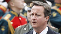 Ahead of a meeting with Russian leaders in Moscow, David Cameron raises the issue of the Alexander Litvinenko murder case but says it is time for Britain and Russia to mend relations (Getty)