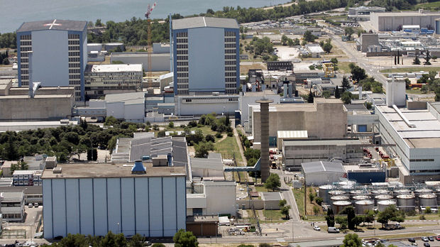 France's nuclear watchdog announces there has been no leak after one man died in an explosion at the Marcoule nuclear plant, in the south of the country (Reuters)