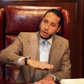 Saadi Gaddafi - Reuters