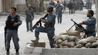 Kabul hit by explosions (Reuters)