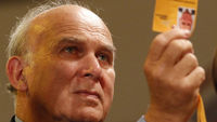 Business secretary Vince Cable who is calling for transparency over exective pay and perks (Reuters)