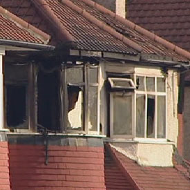 Six members of the same family including a mother, two teenagers and three children aged under ten, were killed following a house fire in north west London early this morning.